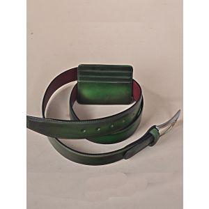 SET Green Belt & Card Holder