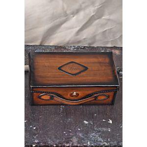 Leather Shoe Box