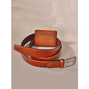 SET Tobacco Belt & Card Holder