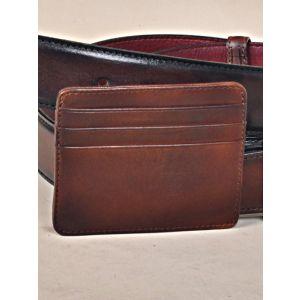 Dark Brown Card Holder