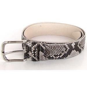 Belt Natural Python
