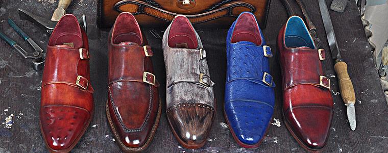 Handmade Monk Strap Shoes