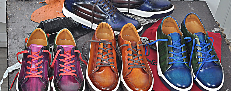 Handmade Leather Sneakers for Men